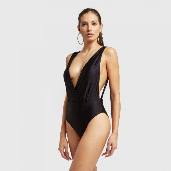 Costume intero Yamamay collezione estate 2020 modello Blaze nero