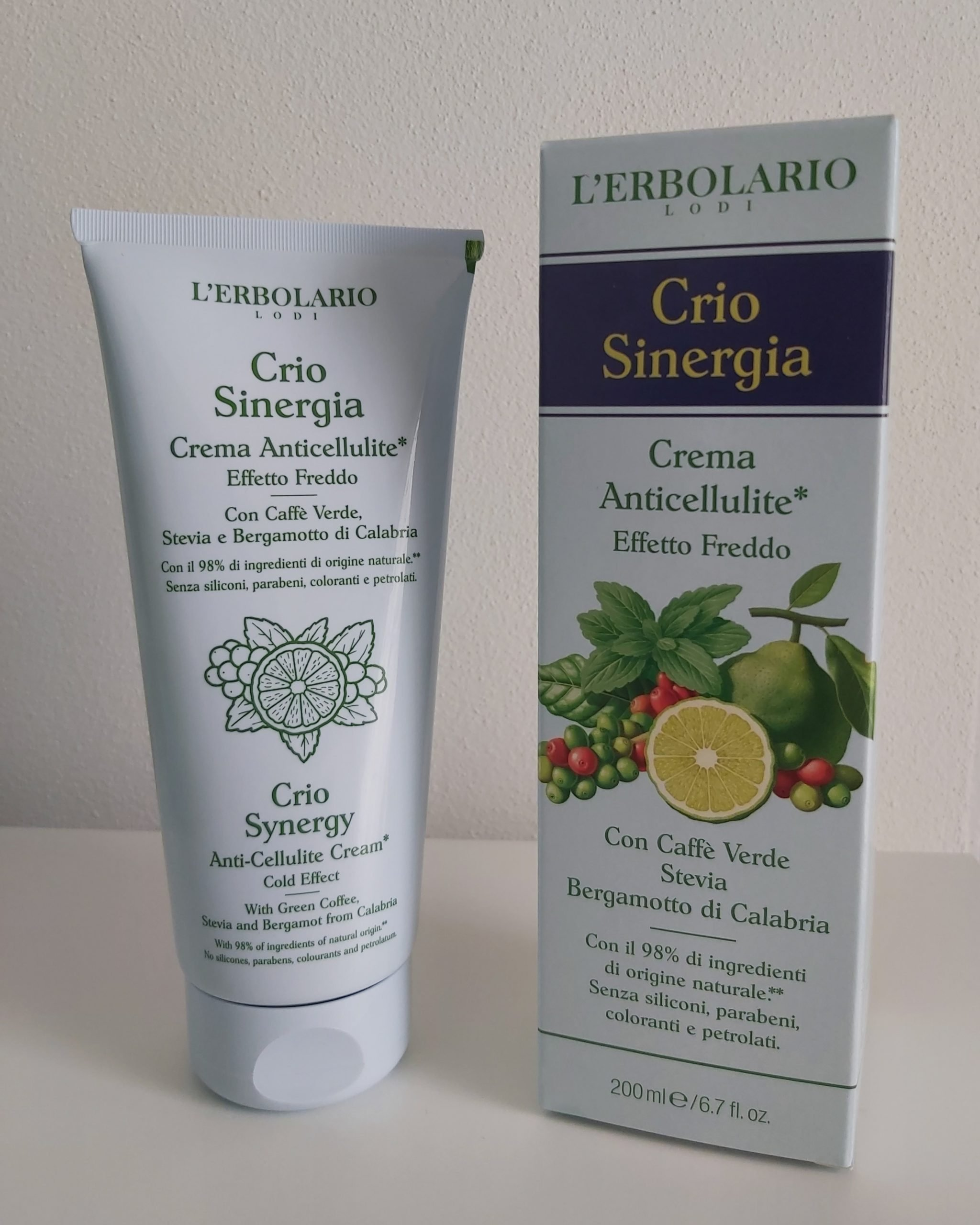 Migliore Crema Anticellulite Crio Sinergia LErbolario