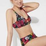 Bikini Tezenis con slip a vita alta