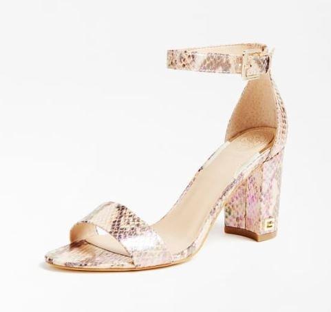 Guess sandalo con tacco alto grosso modello Melisa