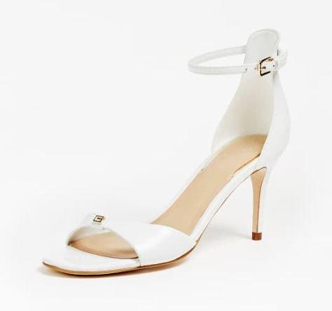 Raffinato sandalo Guess con tacco a spillo modello Abiri