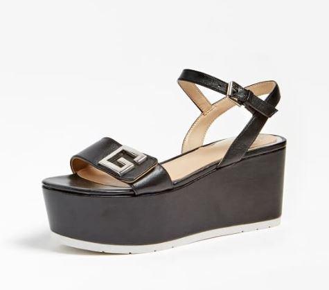 Sandalo con zeppa Guess estate 2020
