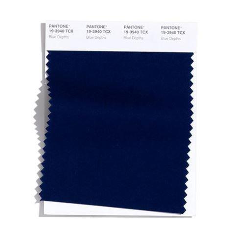 Colore Moda Inverno 2020 2021 Pantone Blue Depths