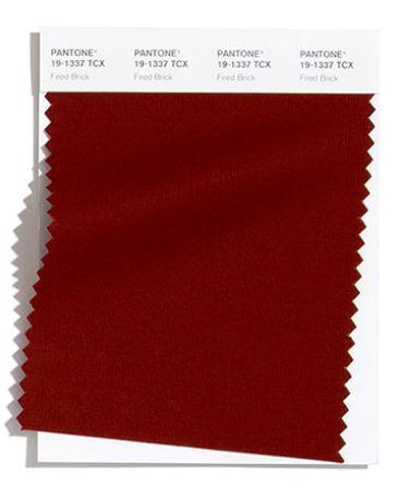 Colore Moda Inverno 2020 2021 Pantone Fired Brick