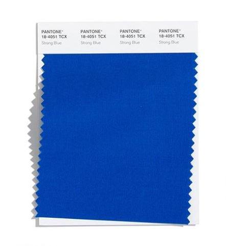 Colore Moda Inverno 2020 2021 Pantone Strong Blue