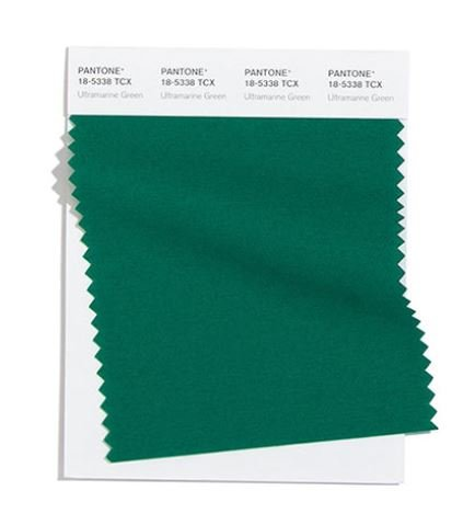Colore Moda Inverno 2020 2021 Pantone Ultramarine Green