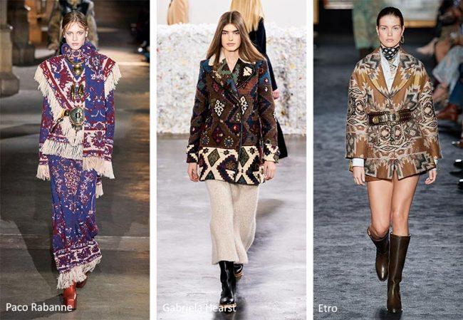 Fantasia Arazzi moda donna abbigliamento inverno 2020 2021