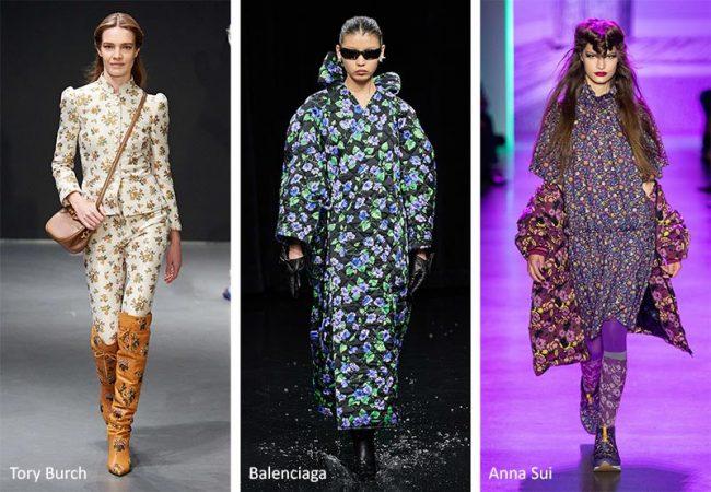 Stampa floreale micro moda donna abbigliamento inverno 2020 2021