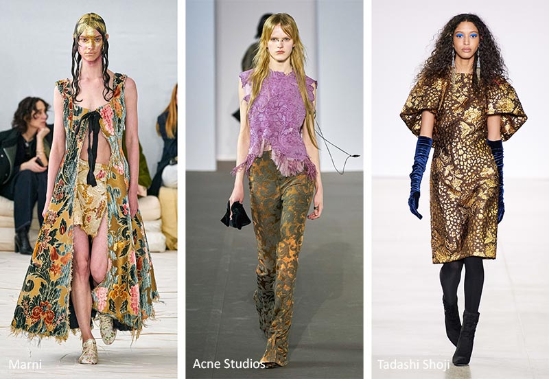 Stampe e Fantasie Moda Abbigliamento Donna Inverno 2020 2021