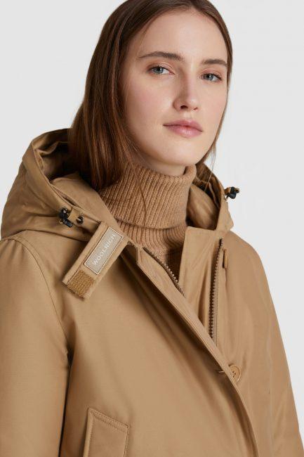 Arctic Parka Woolrich donna collezione invernale 2020 2021 gold khaki