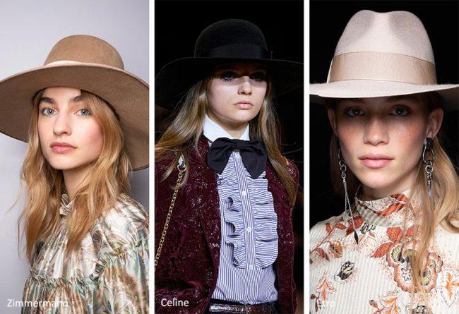 Cappello Fedora da donna moda inverno 2021