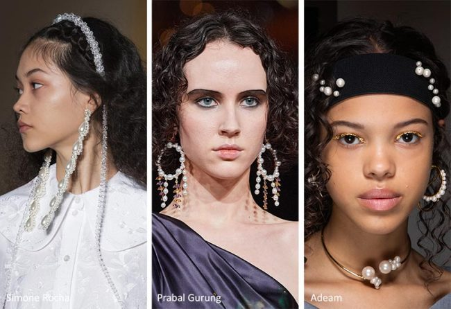 Gioielli con perle moda inverno 2020 2021