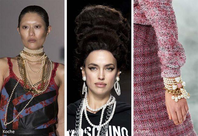 Perle e Catene moda gioielli inverno 2020 2021