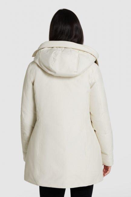 Woolrich Arctic Parka con pelliccia removibile colore white stone inverno 2020 2021