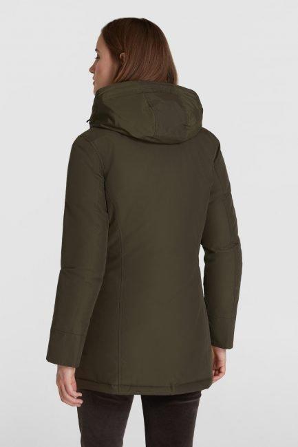 Woolrich Arctic Parka senza pelliccia sul cappuccio colore dark green inverno 2020 2021